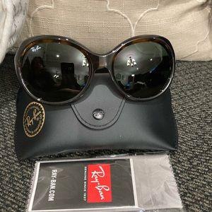 Ray-Ban 57mm Oversized Sunglasses Jackie Ohh